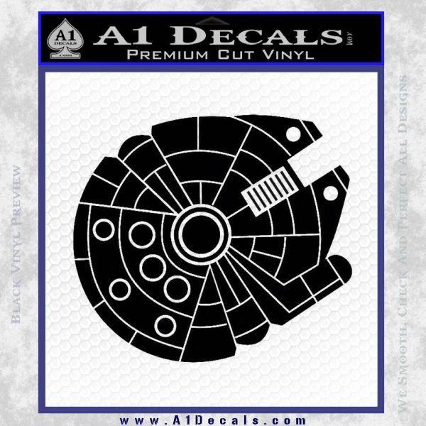 Millennium Falcon Decal Sticker Inspiring Crafts Lego