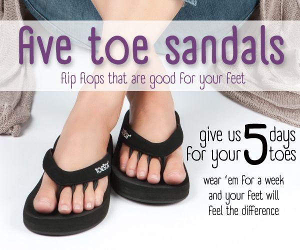 a6715d0fc8a toe sox 5 toe sandals info