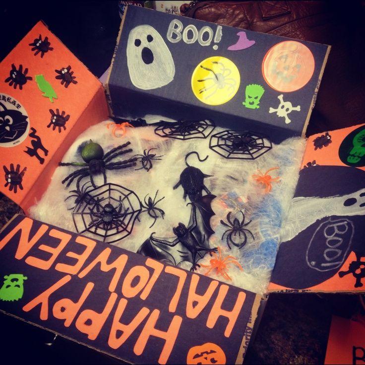 Halloween Care Package #spookybasketideasforboyfriend