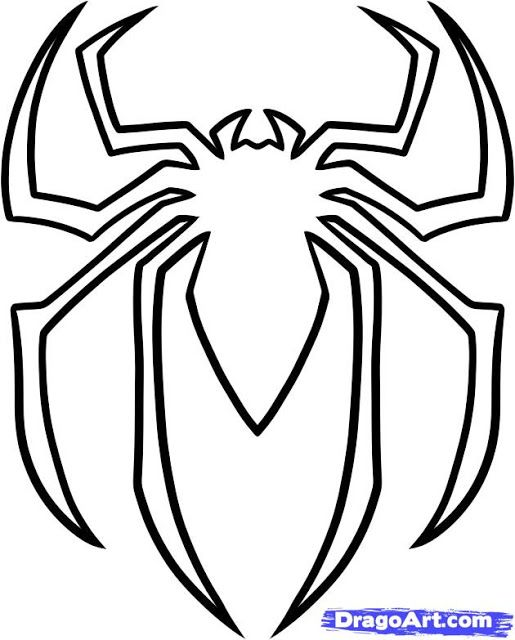 Easy Superhero Spiderman Pumkin Carving Pattern Templates Download Spiderman Pumpkin Spiderman Pumpkin Stencil Spiderman Coloring