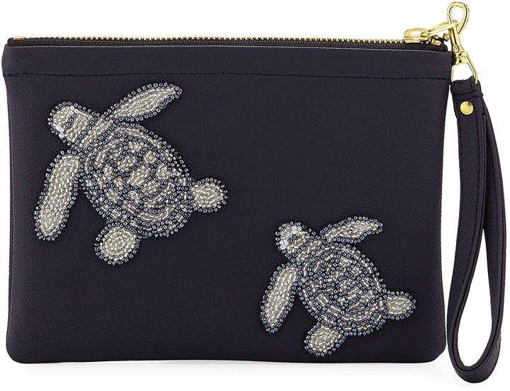 9bc9fead7bbe Tea   Tequila Vegan Turtle Clutch Bag