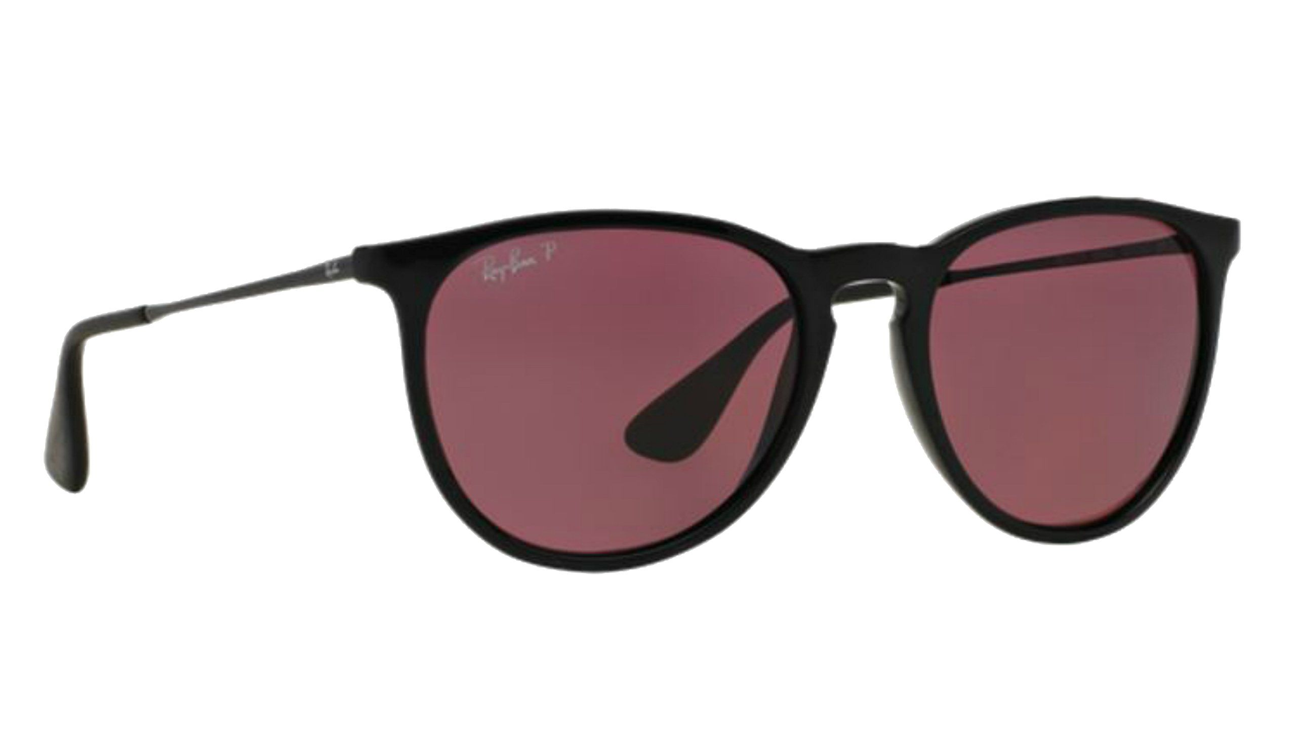 ray ban made in italy dz8e  Ray-Ban Purple Polarized Erika Sunglasses RB 4171 + SD Glasses + Kit Made  in Italy Includes Free Pair of ShadesDaddy Glasses + Cleaning KIT