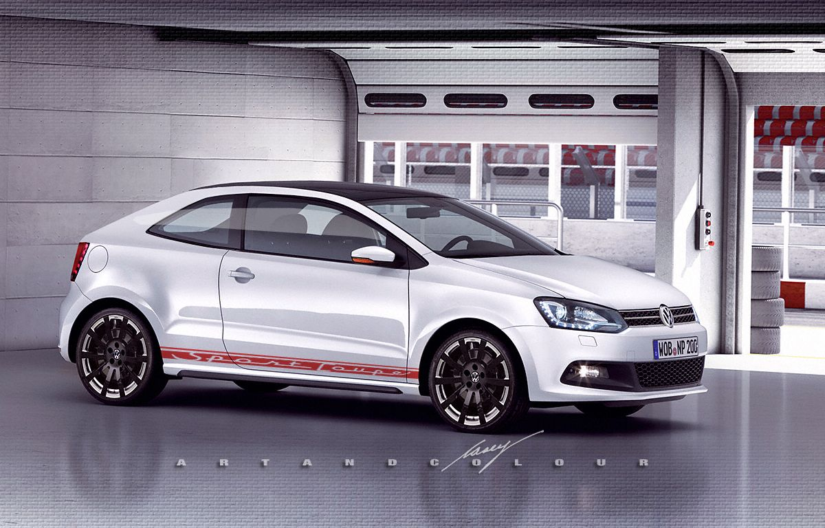 2014 volkswagen polo sport coupe concept conceptual design volkswagen polo volkswagen. Black Bedroom Furniture Sets. Home Design Ideas