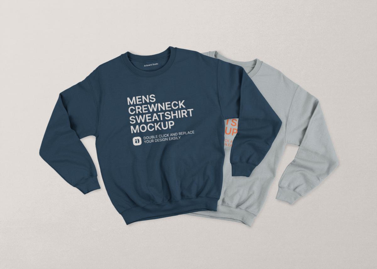 Crewneck Sweatshirt Mockup Scene In 2021 Sweatshirts Clothing Mockup Crew Neck Sweatshirt