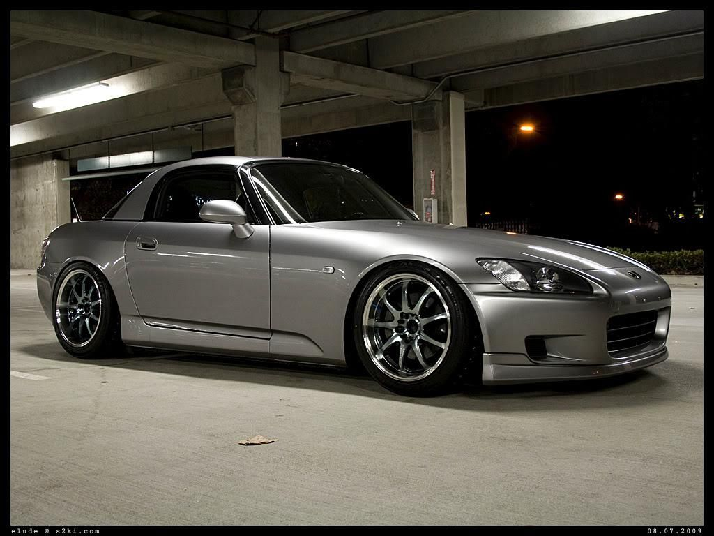 Sleek and classy silver hardtop  | S2k love | Honda cars, Honda crx