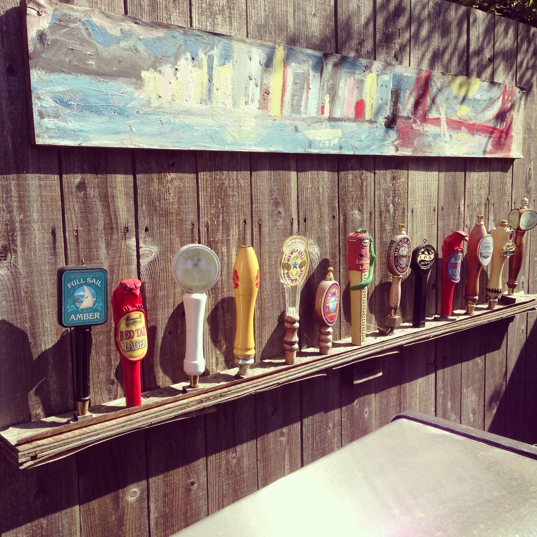 Beer tap handles   Decor ideas   Pinterest   Taps, Men cave and ...