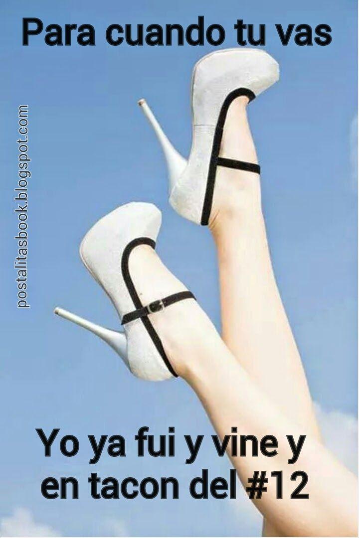 Postales Para Facebook Zapatos Zapatos Hermosos Y Frases