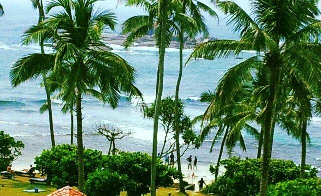 Unawatuna beach, sri lanka #srilankanbeaches