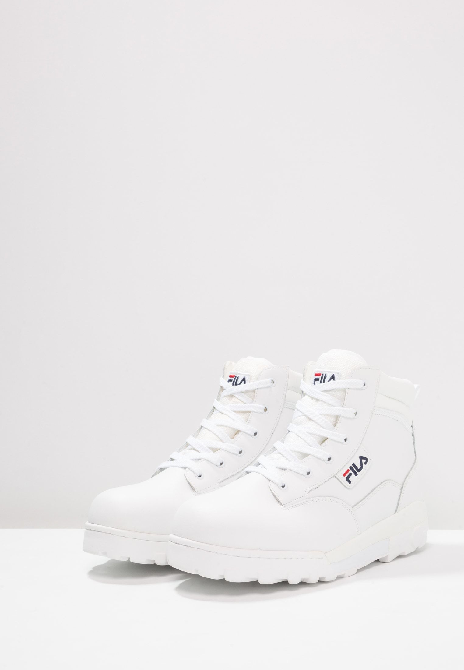 GRUNGE L MID High top trainers white @ Zalando.co.uk