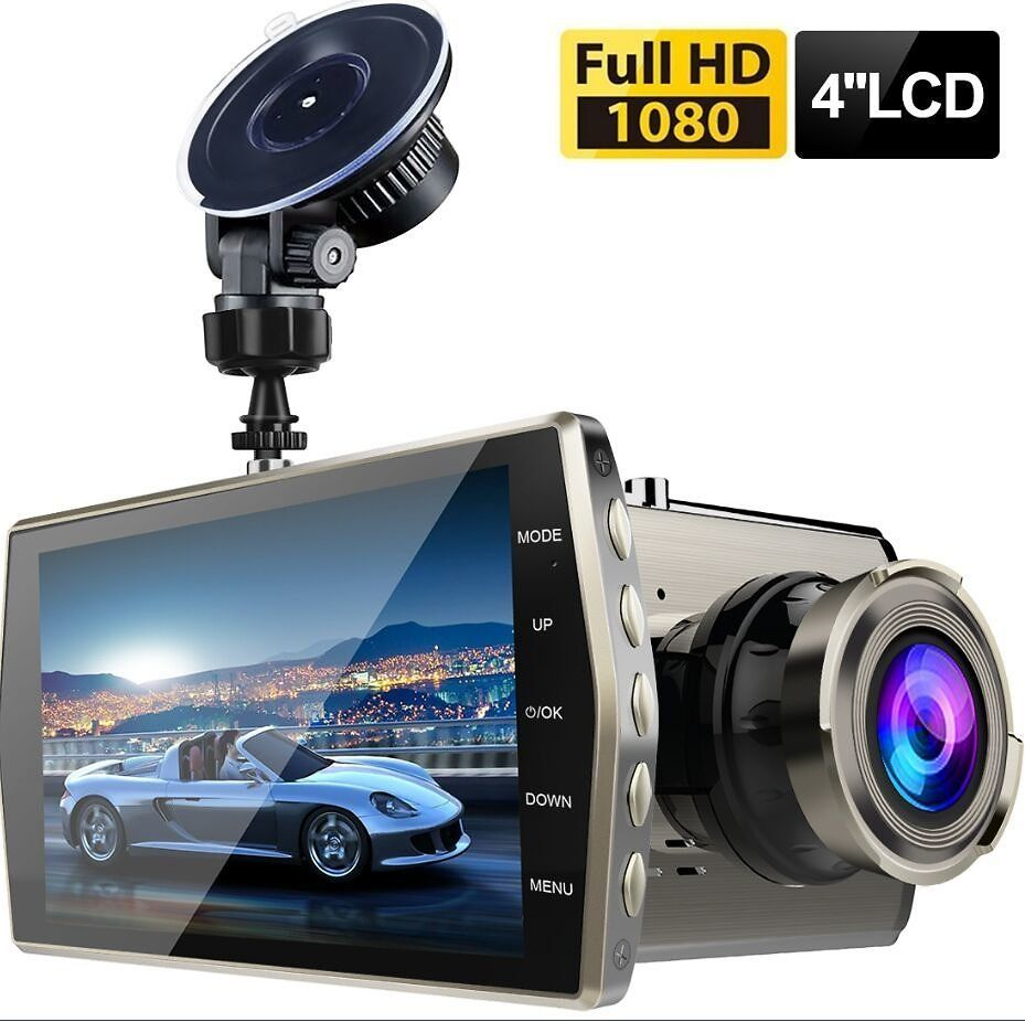 "2X 2.7/"" Full HD Vehicle Car DVR Camera Video Recorder Dash Cam G-Sensor Night BS"