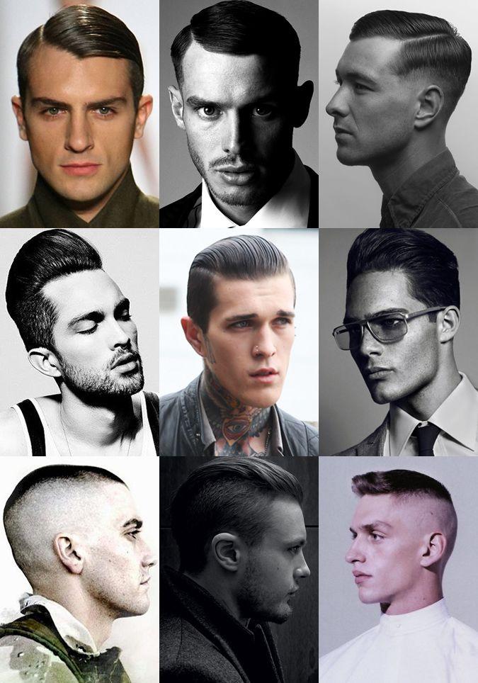 War hero look. | Mens hairstyles, Men haircut styles, Cool ...