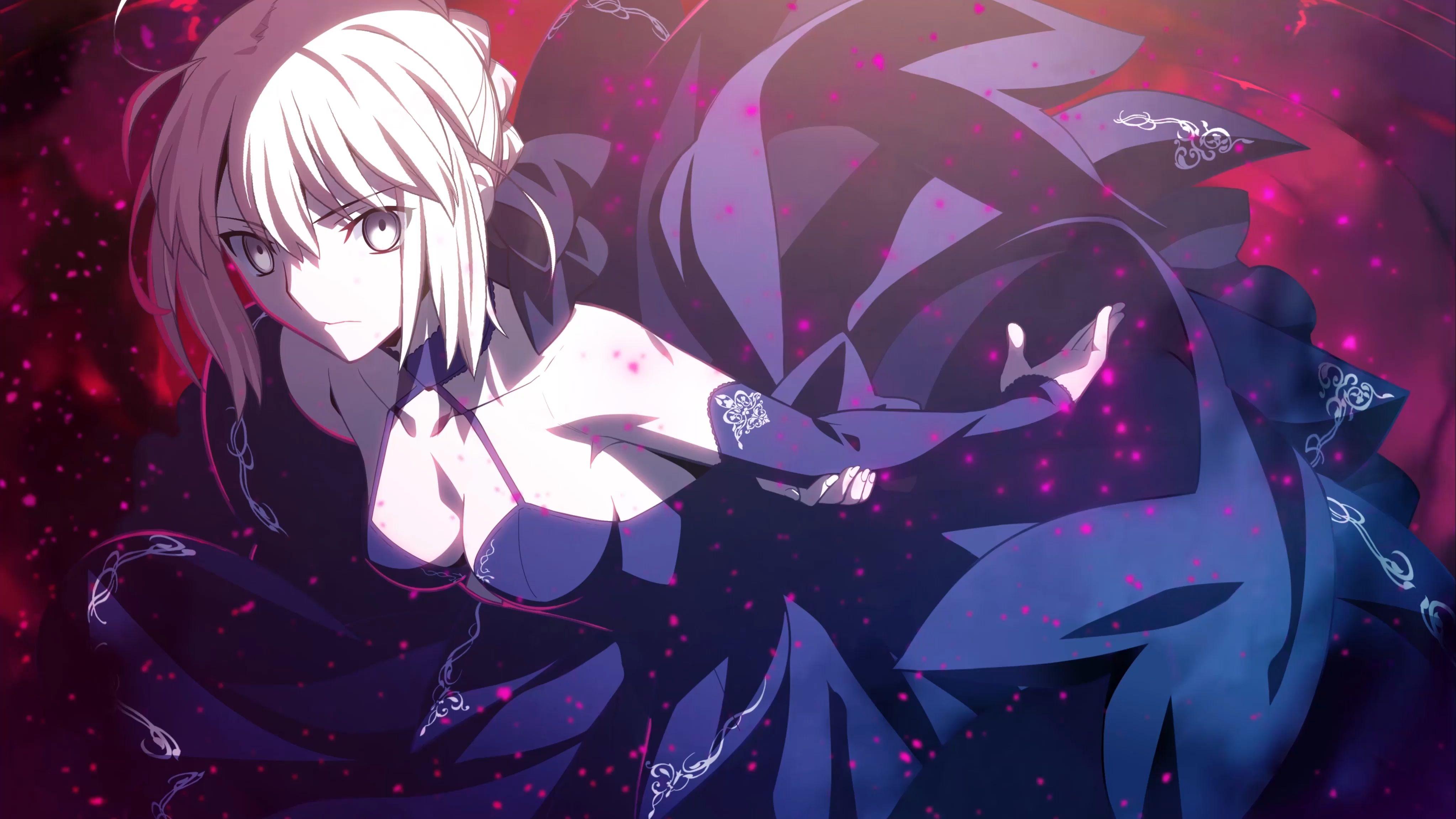 Fate Heaven Feel – Saber alter 特典 4K 60FPS [Wallpaper Engine Anime] 4K
