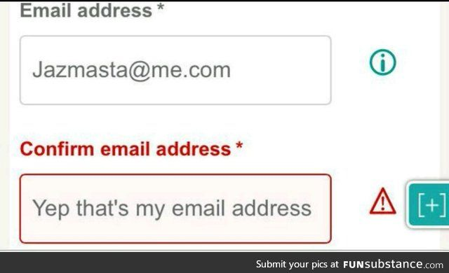 Confirm Email Address Funsubstance Funny Memes Really Funny Funny Emails