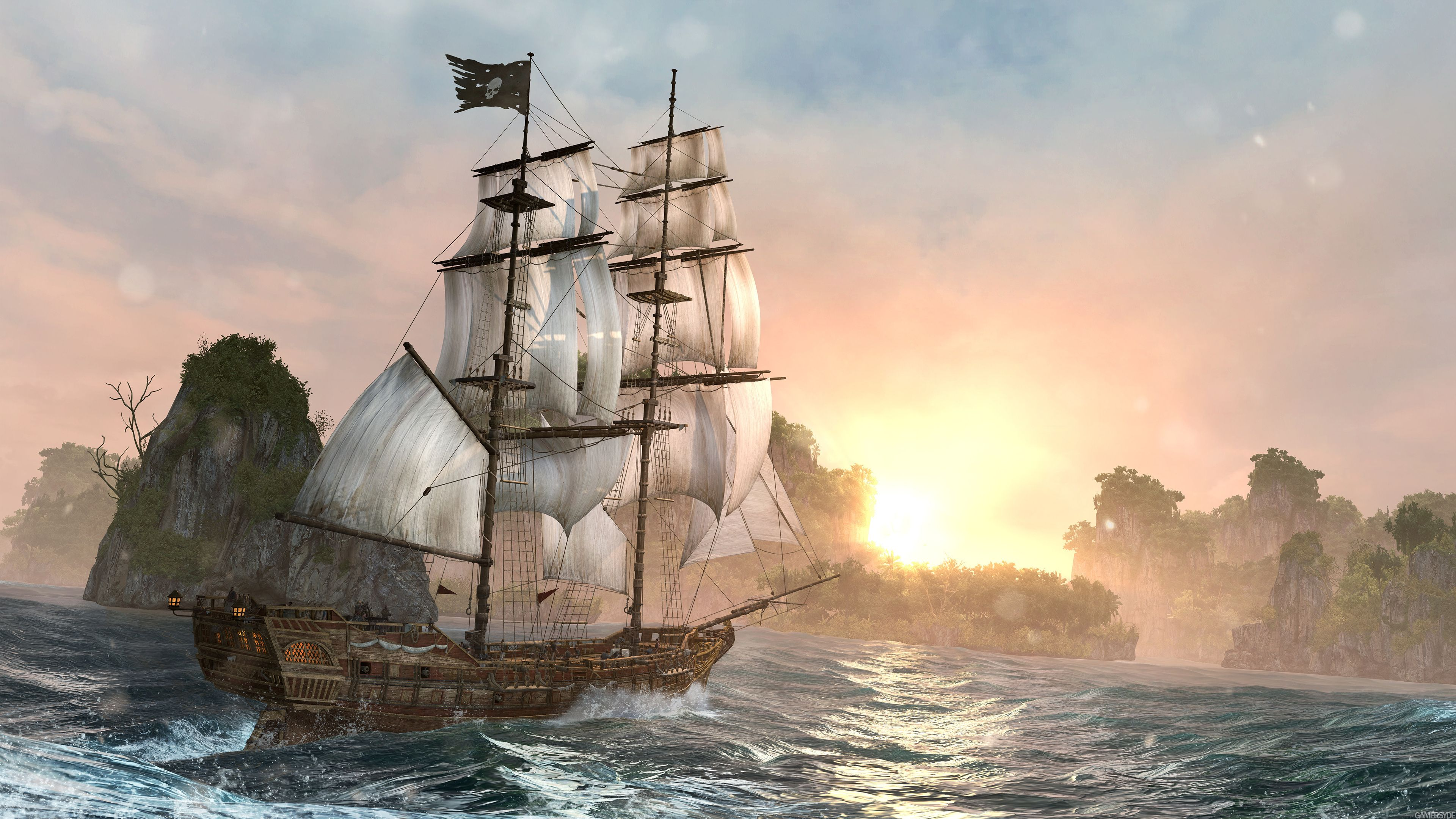 free download ship art game hd wallpaper because thedesktop