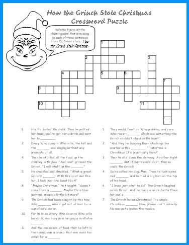 Christmas Word Puzzle, Word Search Printables | Englisch und Schule