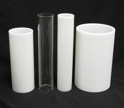 7 tall x 4 wide white glass acid frosted cylinder art to do 7 tall x 4 wide white glass acid frosted mozeypictures Gallery
