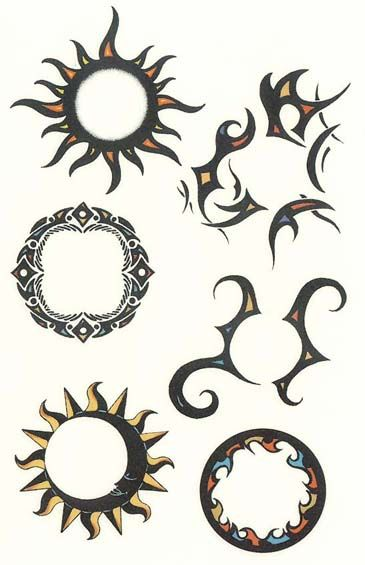 Circle Tattoos Designs And Ideas Page 43 Circle Tattoo Design Circular Tattoo Designs Circle Tattoos