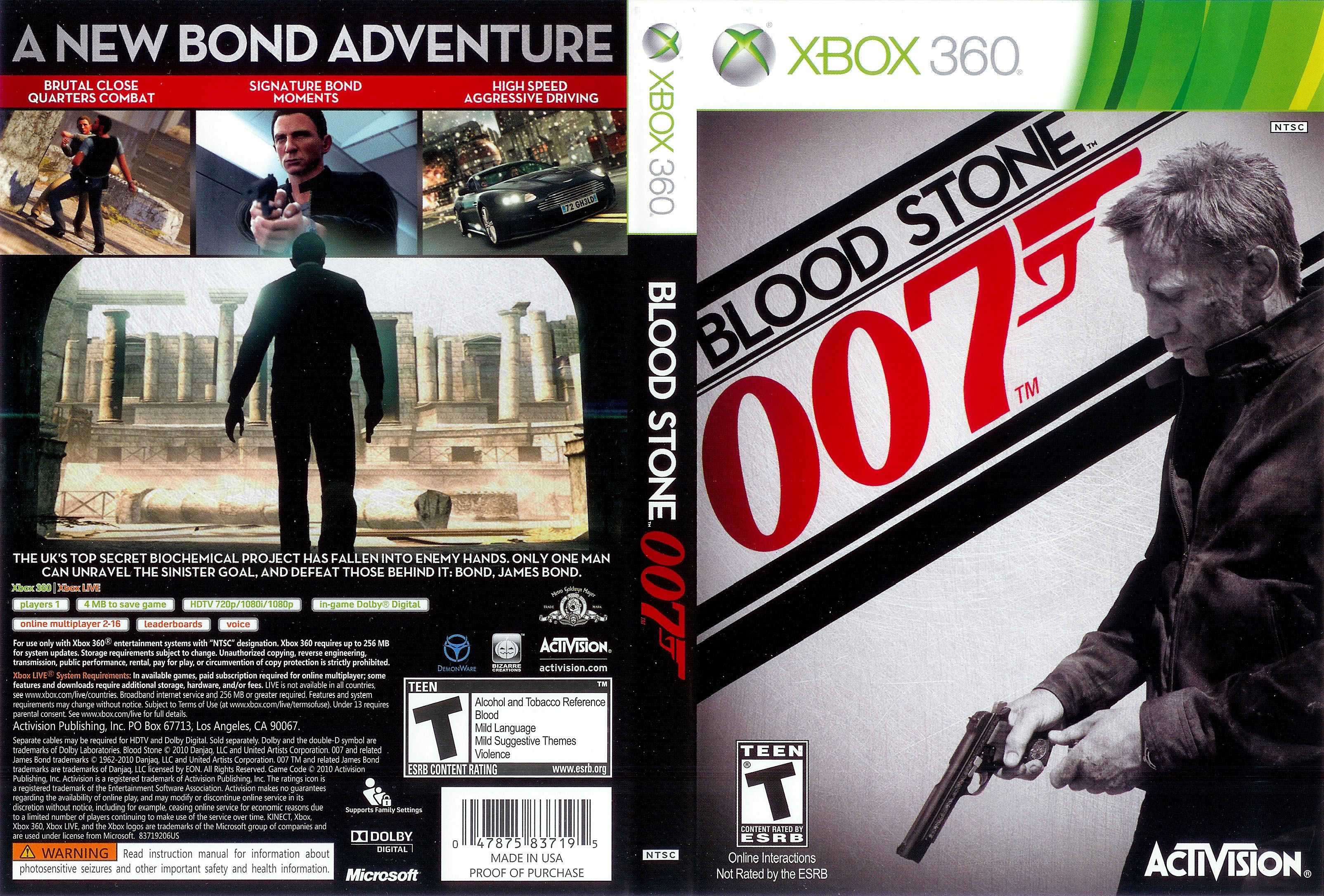 Pin about James bond and In this moment on Game Cover Artwork