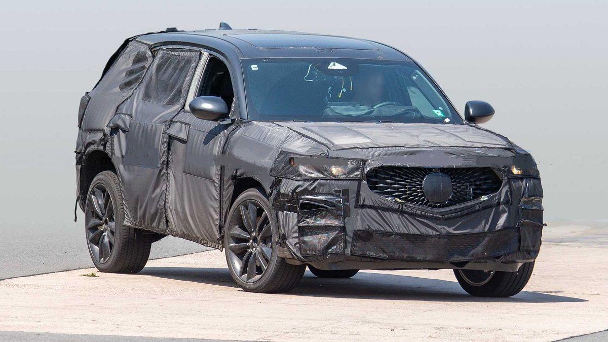 2022 Acura Mdx Type S Caught During Testing In 2020 Acura Mdx Honda Car Models Acura