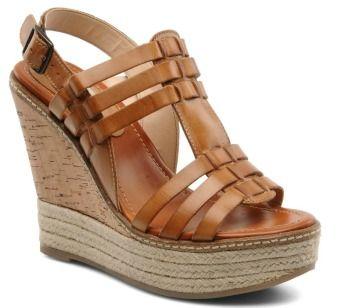 Sandales compensées Dune