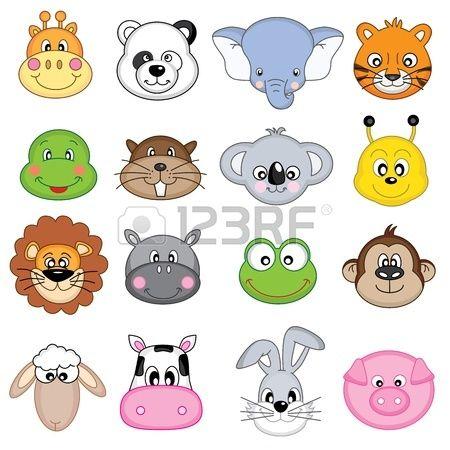 Imagenes de caritas de animales animados imagui - Imagenes animales infantiles ...