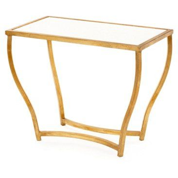 Check out this item at One Kings Lane! Keeling Accent Table, White