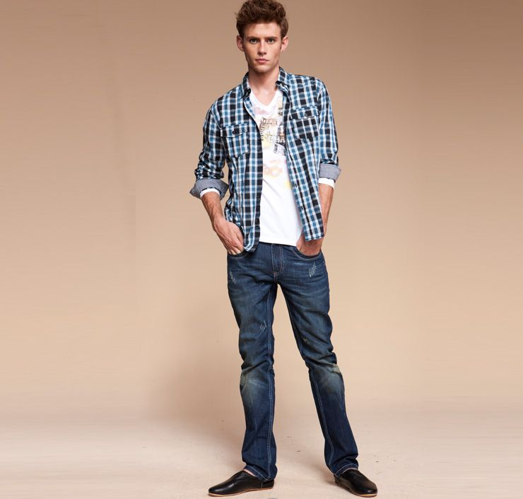 Hot Fashion Clothing Collocation Tips for Men Jeans Wear | Fashion ...