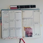 Weekly 10   New month is new weekly setup Find the   Bulletjournal by danique  Op  Weekly 10   New month is new weekly setup Find the   Bulletjournal by danique  Op  Opz...