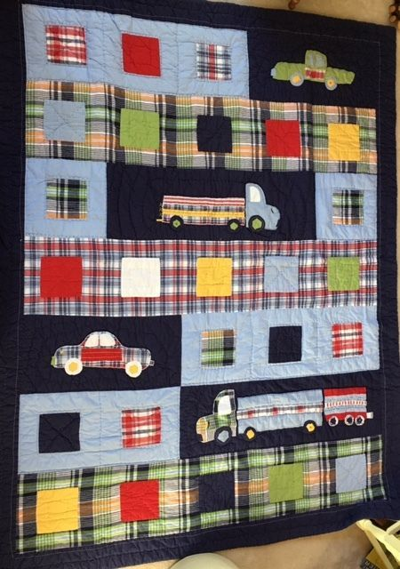 Pottery Barn Quilt Twin Discontinued 65 00 Patrick Transportation Ebay