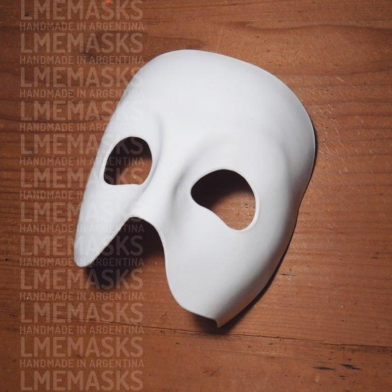 Amazon Com Luxury Mask Men S Phantom Of The Opera Masquerade Mask Vintage Design Clothing Mapa