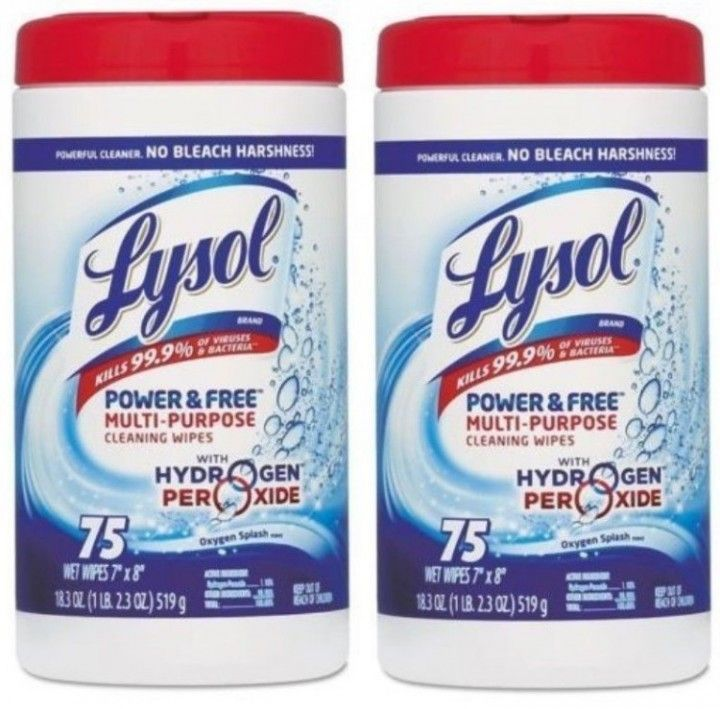 lysol free from wipes