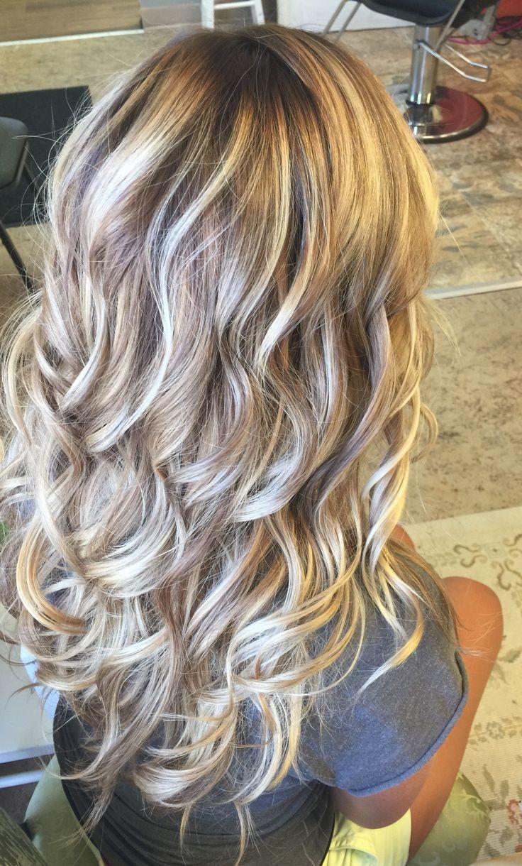 Blonde balayage. Kenra lightener/Kenra Demi Time 4 Hair