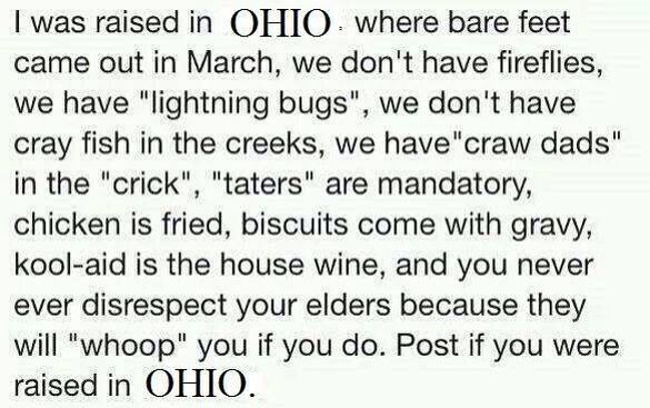 Truly from Ohio