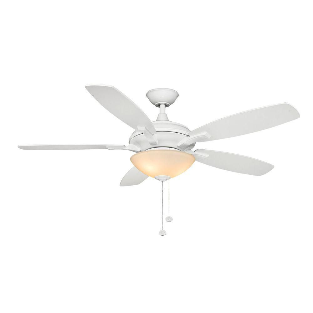 Hampton Bay Springview 52 In White Ceiling Fan 14921 The Home