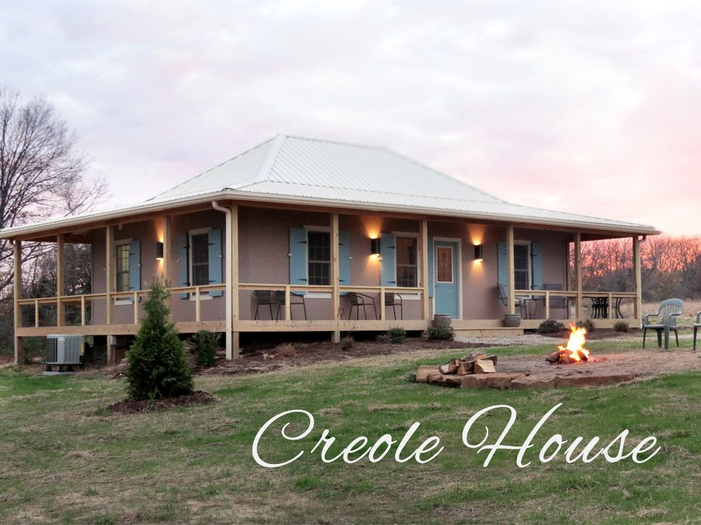Southern IL Cabins Rocky Comfort Cabins   The Creole House