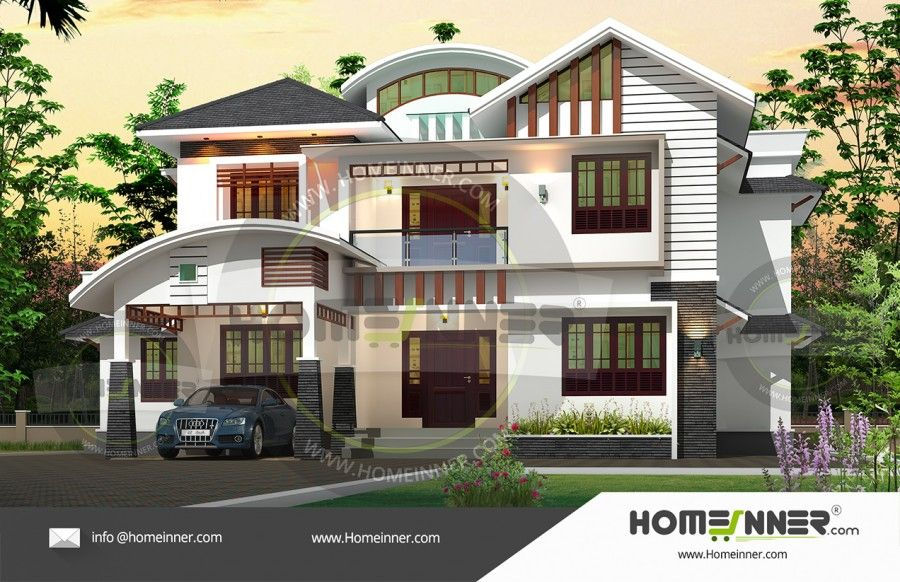 2751 sq ft 4 bedroom modern indian house designs indian house 2751 sq ft 4 bedroom modern indian house designs malvernweather Image collections