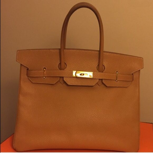 62158f4aa938 AUTHENTIC HERMES BIRKIN CLASSIC TOGO 40cm Authentic. Used. With minor  scratches and scuff to