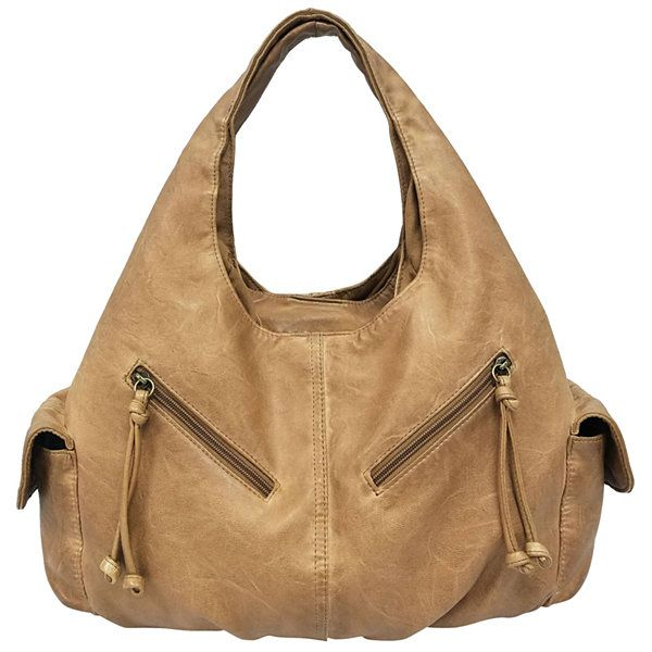 St. John's Bay® Double Shoulder Hobo Bag - JCPenney | Accessories ...
