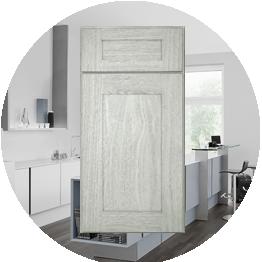 Best Nova Light Gray Shaker Kitchen Cabinets 10X10 Kitchen 400 x 300