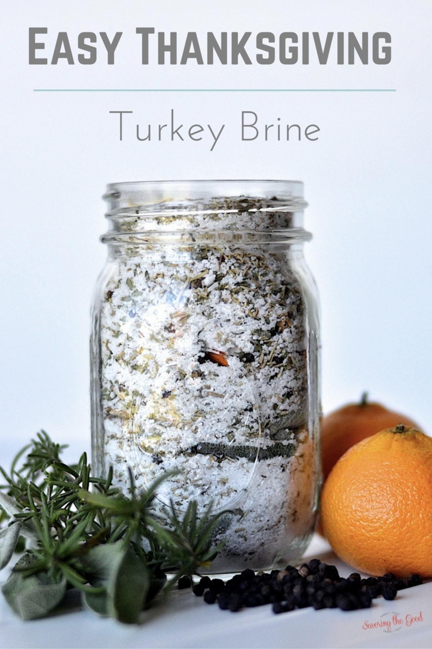 Turkey Brine Recipe | Savoring The Good