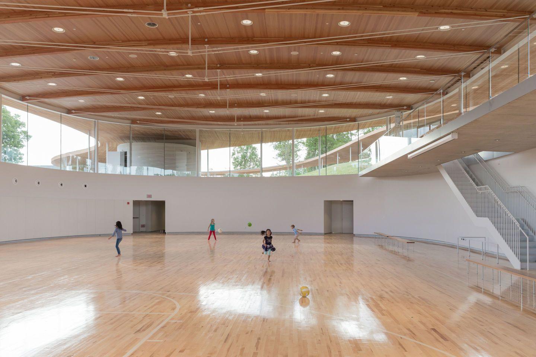 Iwan Baan Dean Kaufman Kazuyo Sejima Ryue Nishizawa Grace Farms Home Basketball Court Sana A