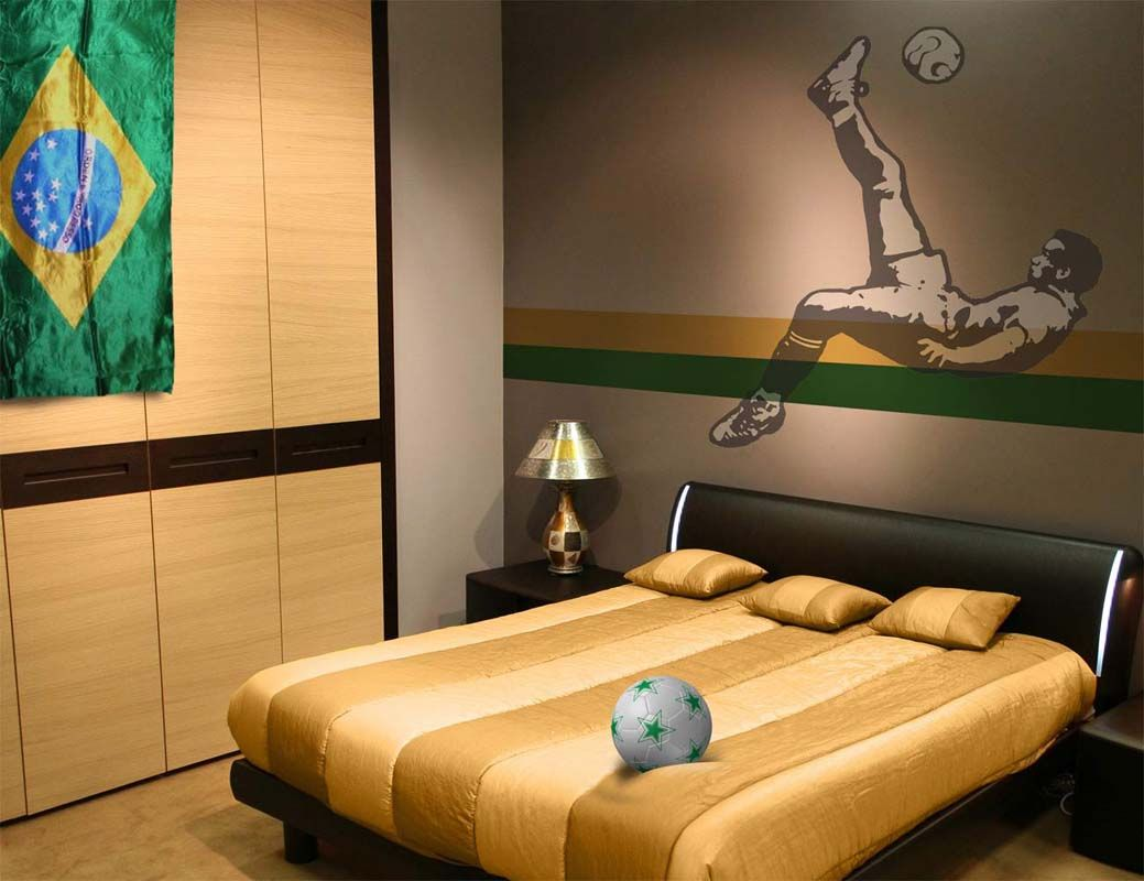 2018 soccer Bedroom Decor - Best Interior House Paint Check more at ...