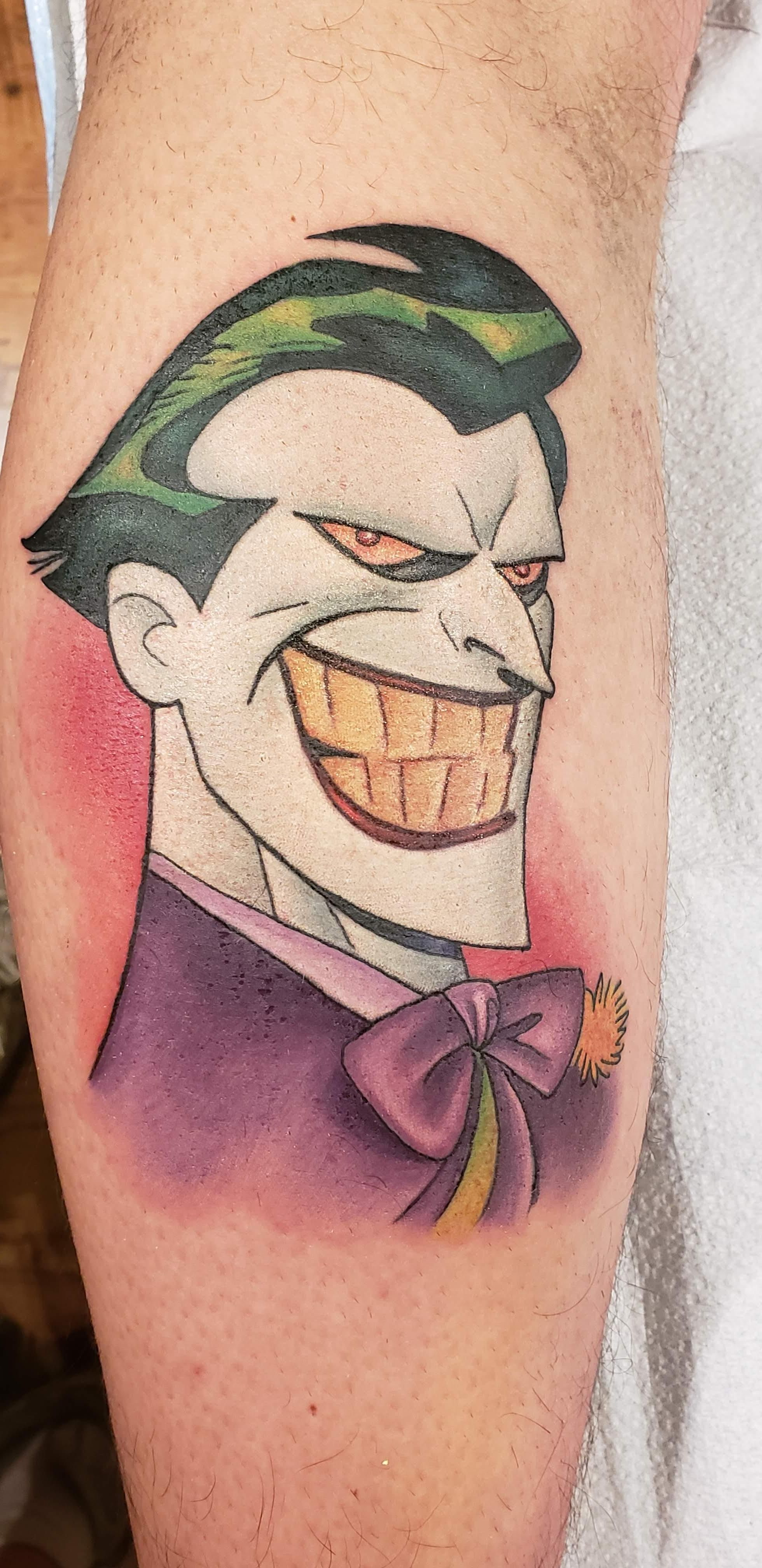Images Of Cartoon Joker Tattoo Designs