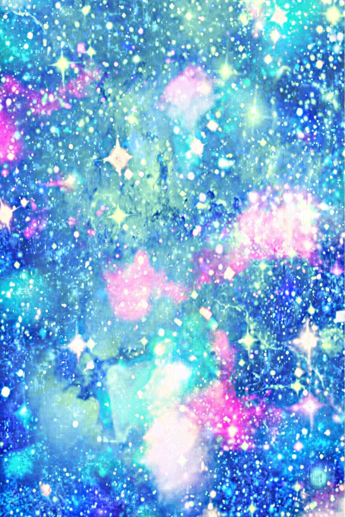 Glacial Water Galaxy Wallpaper