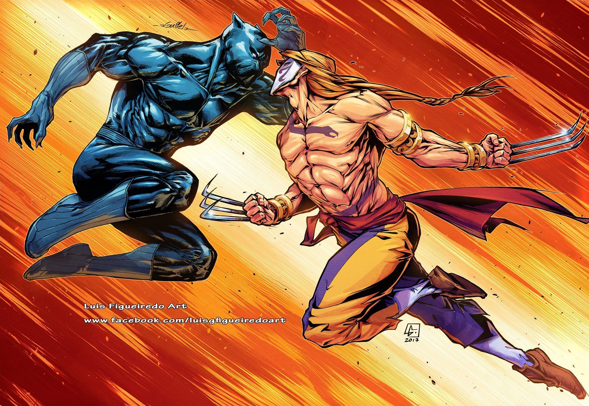 Vega Vs Black Panther T Challa Street Fighter Art Black Panther Black Panther Art