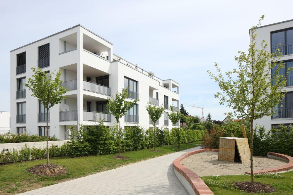 Gartenstadt Pfuhl, NeuUlm Neubau einer Wohnsiedlung mit