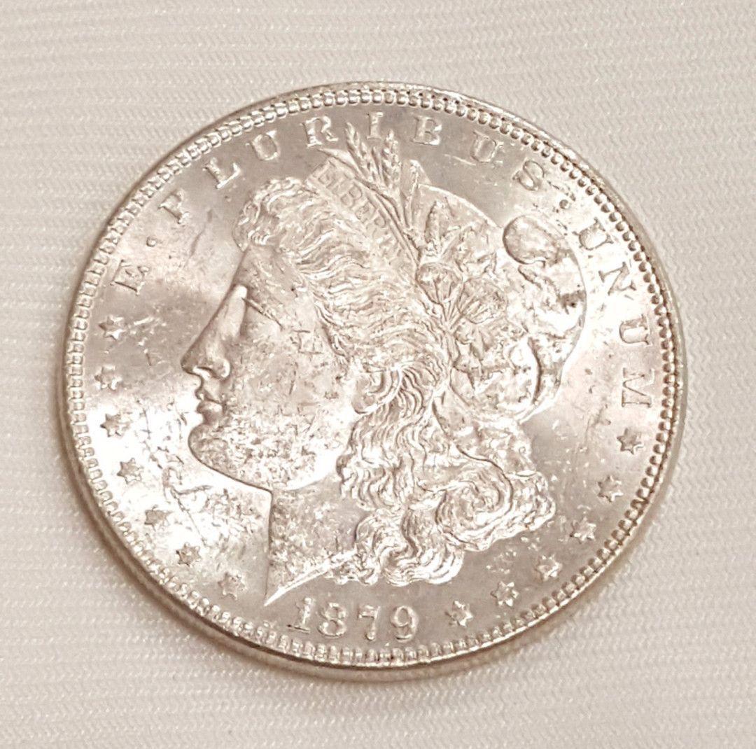 Pre-1904 VG USA ROUND BULLION COINS 90/% Silver Morgan Dollar RANDOM YEARS