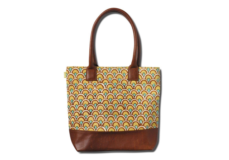 Gold & Emerald Leather Tom's Handbag    NEED