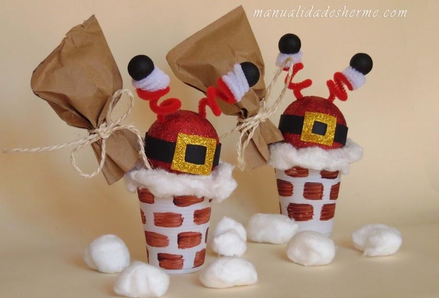 Vamos a decorar con detalles divertidos en Navidad Adornos - manualidades para navidad