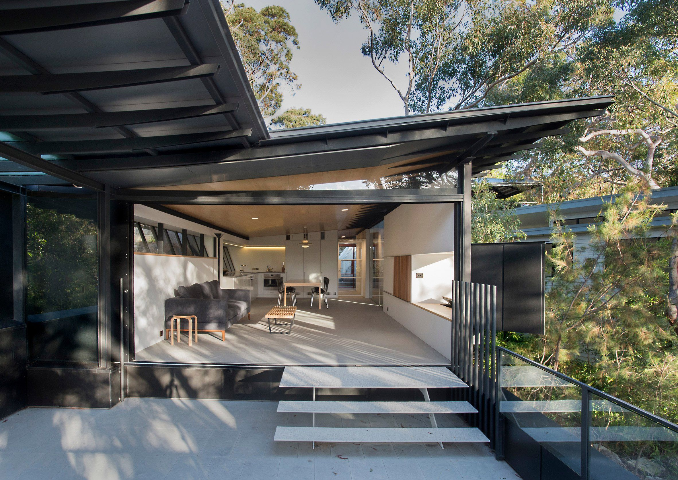 Best Donaldson House By Architect Glenn Murcutt Set In A Patch 400 x 300